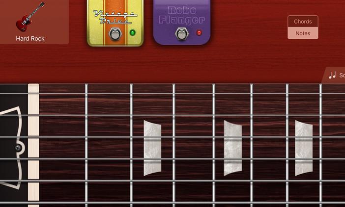 Echte muziekinstrumenten gebruiken met GarageBand op uw iPad