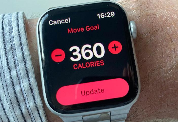 Hoe u het verplaatsingsdoel op uw Apple Watch kunt wijzigen