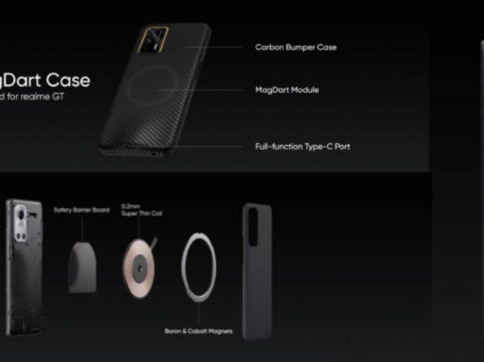 Realme kondigt MagSafe-achtige draadloze MagDart-opladers aan