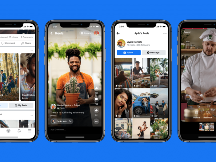 Facebook heeft nu rollen om TikTok te rivaliseren
